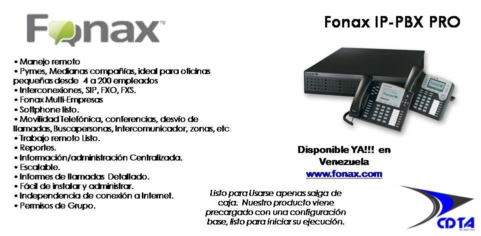 IP / PBX FONAX
